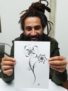 Beirut - Arabic Calligraphy Workshop by Hicham Chajai