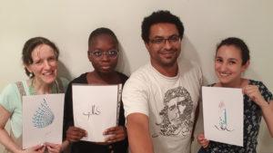 Paris - Arabic Calligraphy Workshop by Hicham Chajai