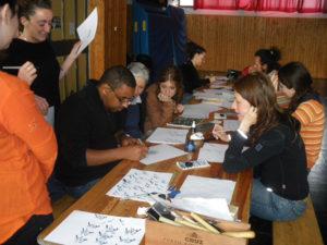 Roma - Arabic Calligraphy Workshop by Hicham Chajai