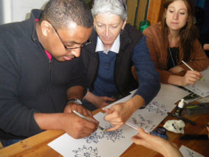 Roma - Arabic Calligraphy Workshop by Hicham Chajai